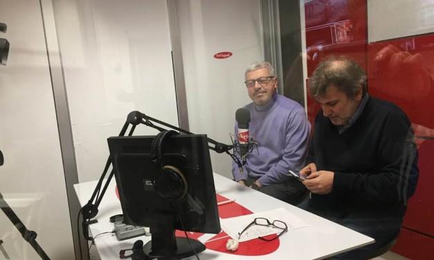 Appena conclusa l'intervista a Radio Amore Napoli